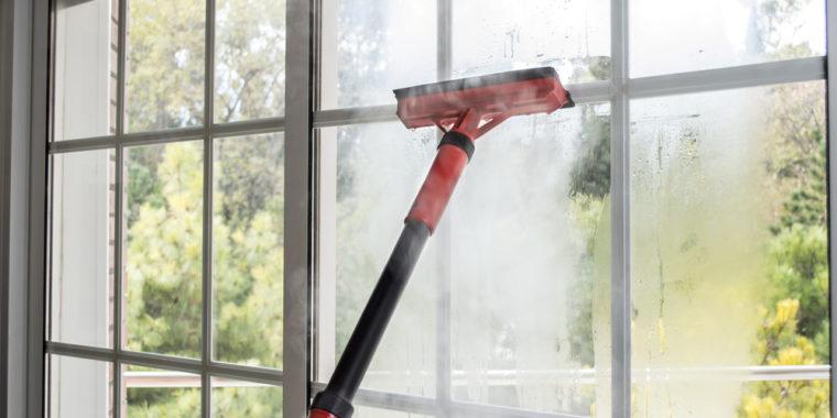 nettoyage à vapeur pour vitre